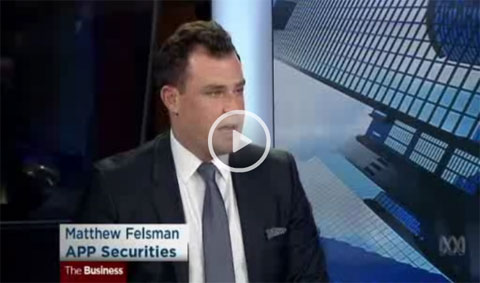 Friday markets with Matthew Felsman from APP Securities - The Business ABC